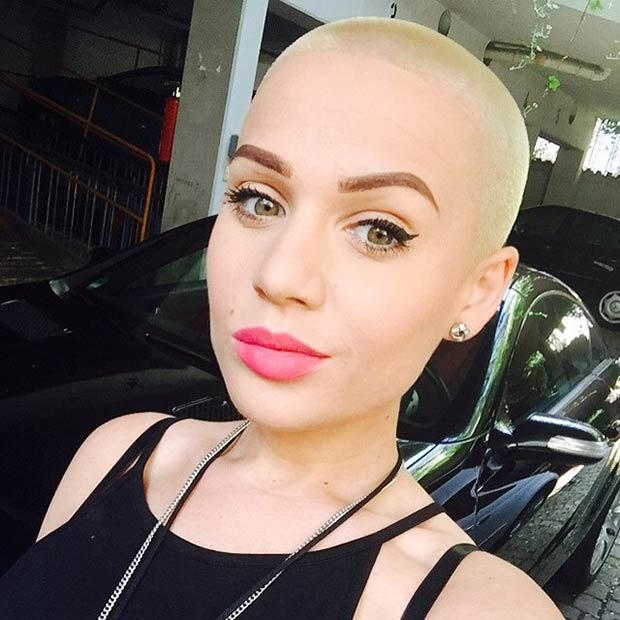 23 Most Badass Shaved Hairstyles For Women Page 13 Foliver Blog