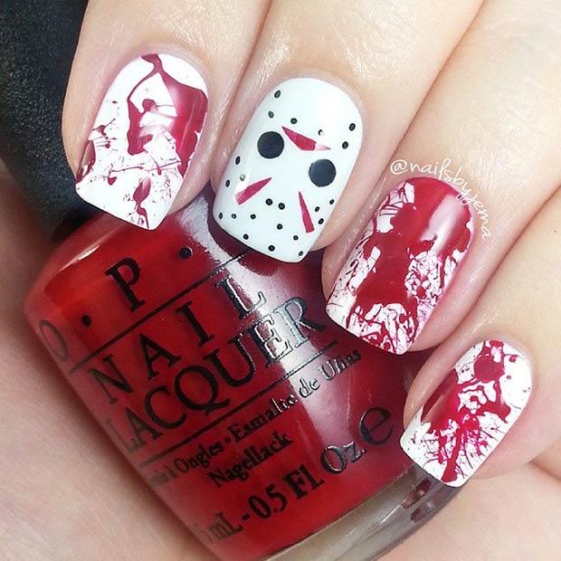 14 Jason Voorhees + Blood Splatter