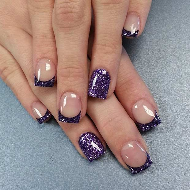 31 Cool French Tip Nail Designs Page 14 Foliver Blog