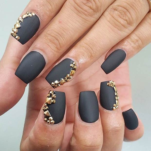 25 Matte Nail Designs You\'ll Want to Copy this Fall – Page 15 ...