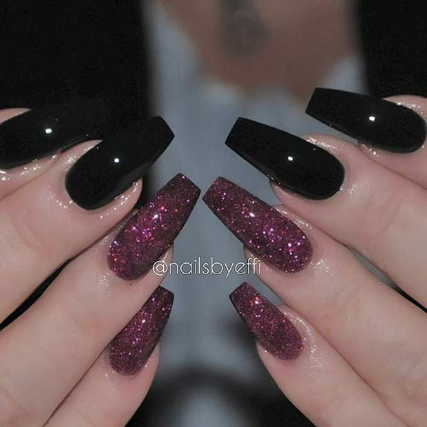 31 Trendy Nail Art Ideas for Coffin Nails – Page 15 – Foliver blog