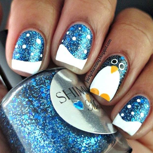 16 Penguin Nails
