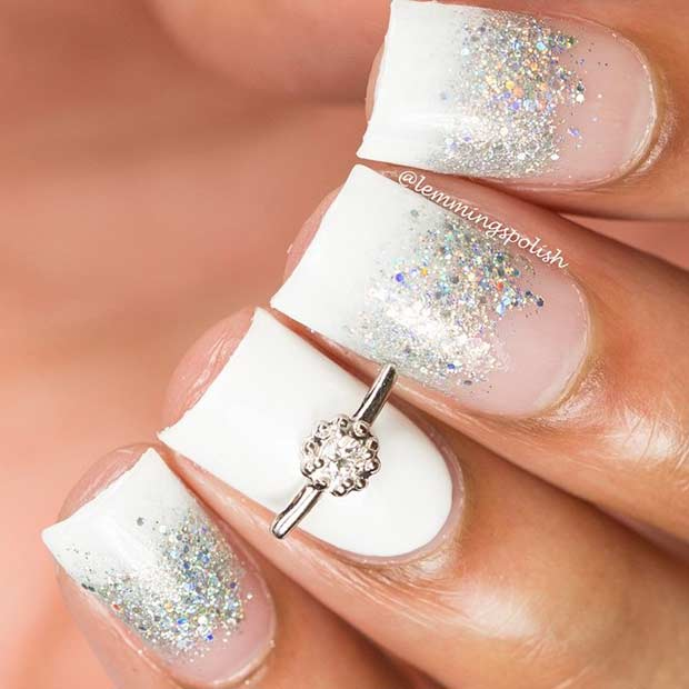 31 Elegant Wedding Nail Art Designs Page 17 Foliver Blog