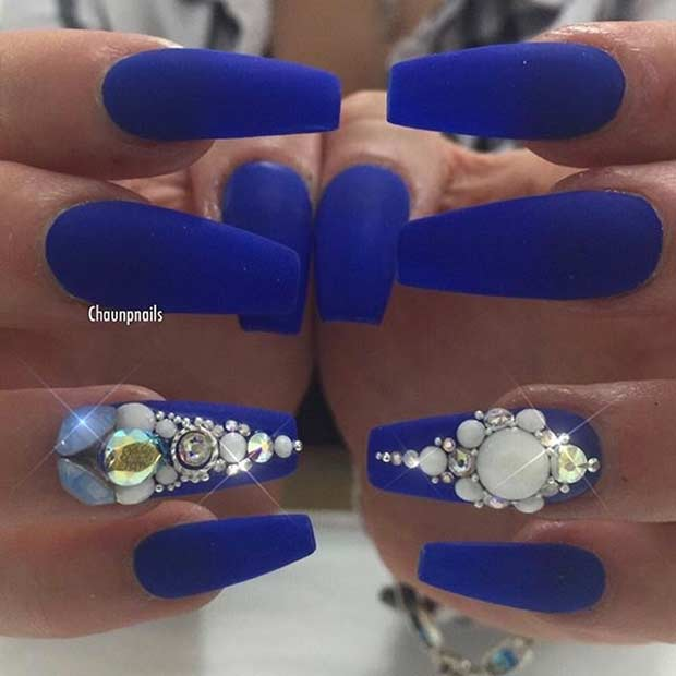 31 Trendy Nail Art Ideas For Coffin Nails Page 18