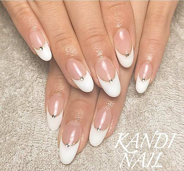31 Elegant Wedding Nail Art Designs – Page 18 – Foliver blog