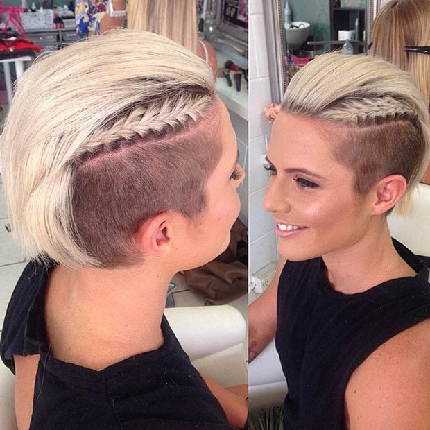 23 Most Badass Shaved Hairstyles for Women – Page 19 – Foliver blog