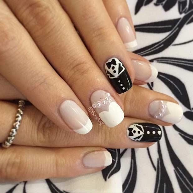 nail designs for weddings - Romeo.landinez.co