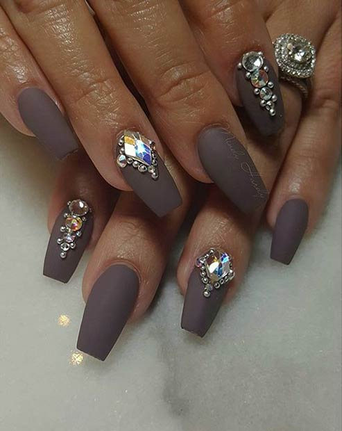 31 Trendy Nail Art Ideas For Coffin Nails Page 2
