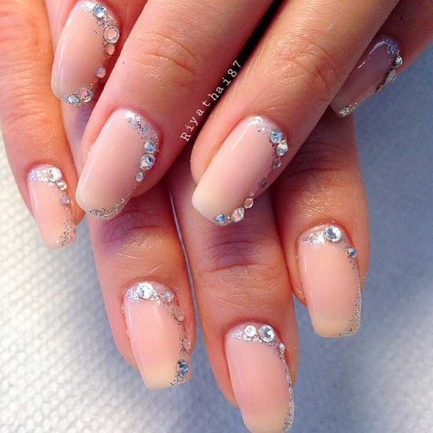 31 Elegant Wedding Nail Art Designs – Page 25 – Foliver blog