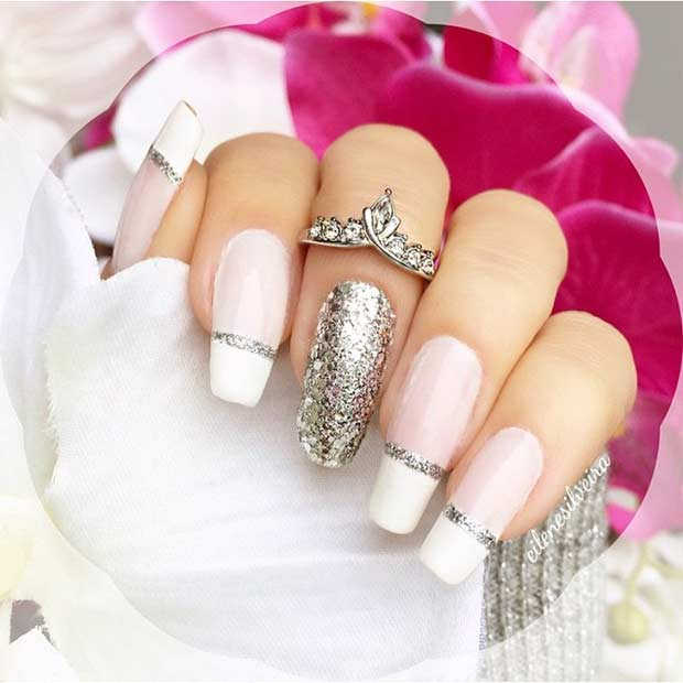 31 Cool French Tip Nail Designs – Page 25 – Foliver blog