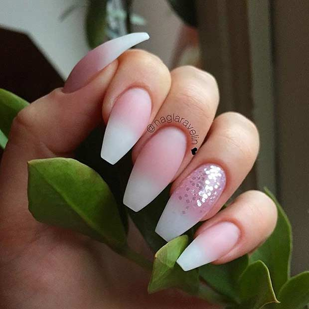 white matte acrylic nails nails gallery