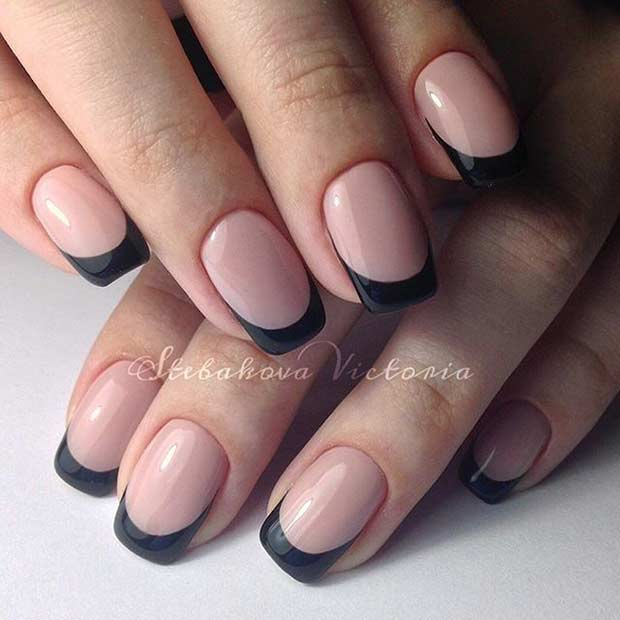 31 Cool French Tip Nail Designs Page 26 Foliver Blog