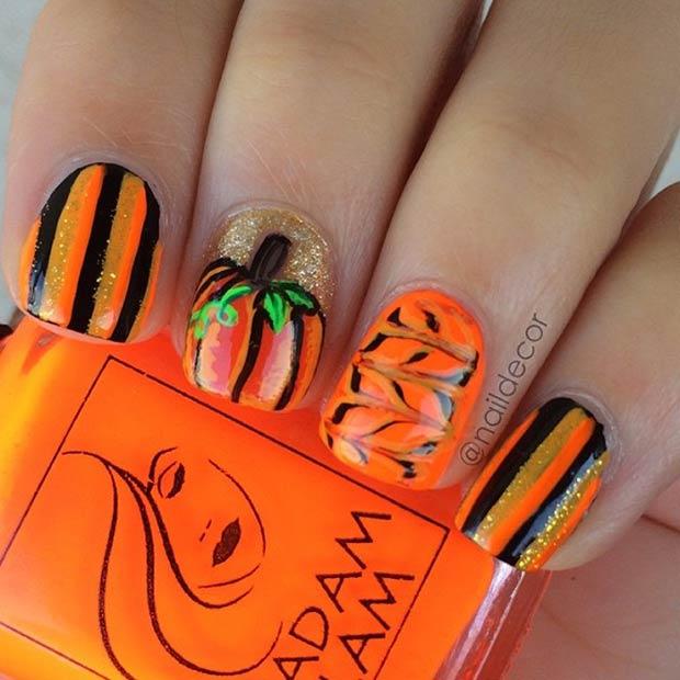 26 Cool Black & Orange Design