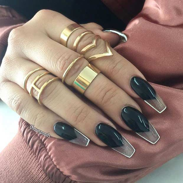 31 Trendy Nail Art Ideas For Coffin Nails Page 27 Foliver Blog