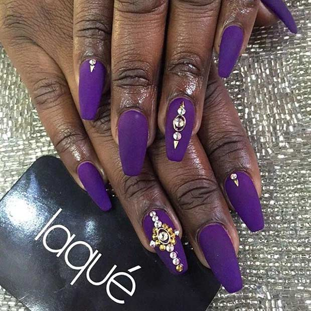 31 Trendy Nail Art Ideas For Coffin Nails Page 28 Foliver Blog