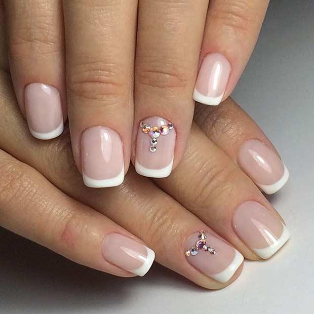 31 Elegant Wedding Nail Art Designs Page 29 Foliver Blog