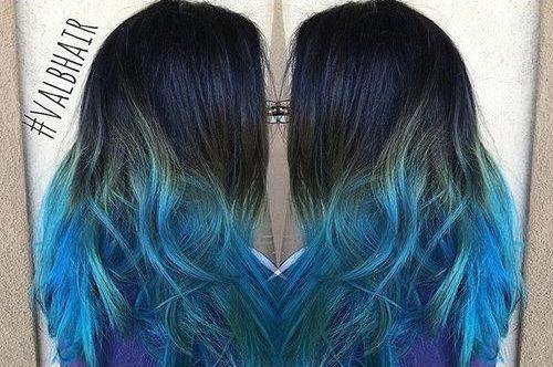29 naturally wavy fantastically blue