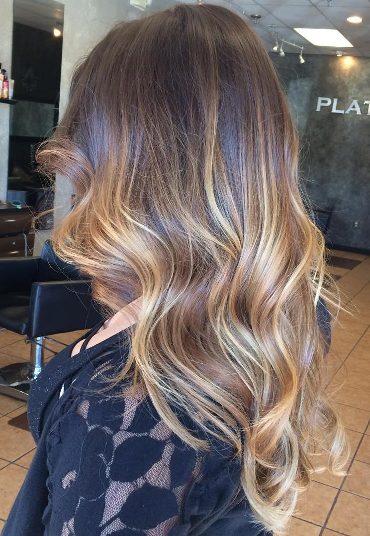 60 balayage hair color ideas with blonde brown caramel. Black Bedroom Furniture Sets. Home Design Ideas