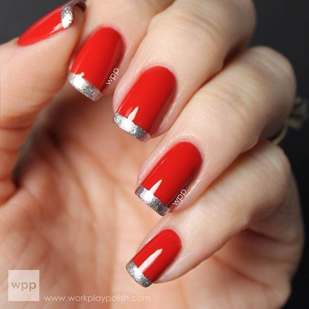 31 Cool French Tip Nail Designs – Page 31 – Foliver blog