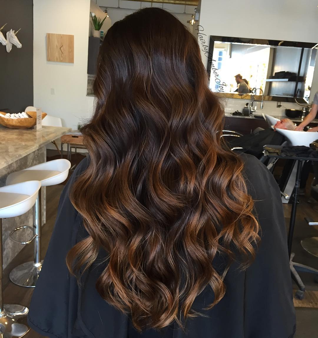 Carmel highlights on brown hair brown hairs 60 balayage hair color ideas with blonde brown caramel and red highlights pmusecretfo Gallery