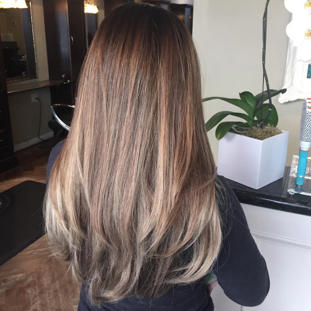 60 Balayage Hair Color Ideas with Blonde, Brown, Caramel and