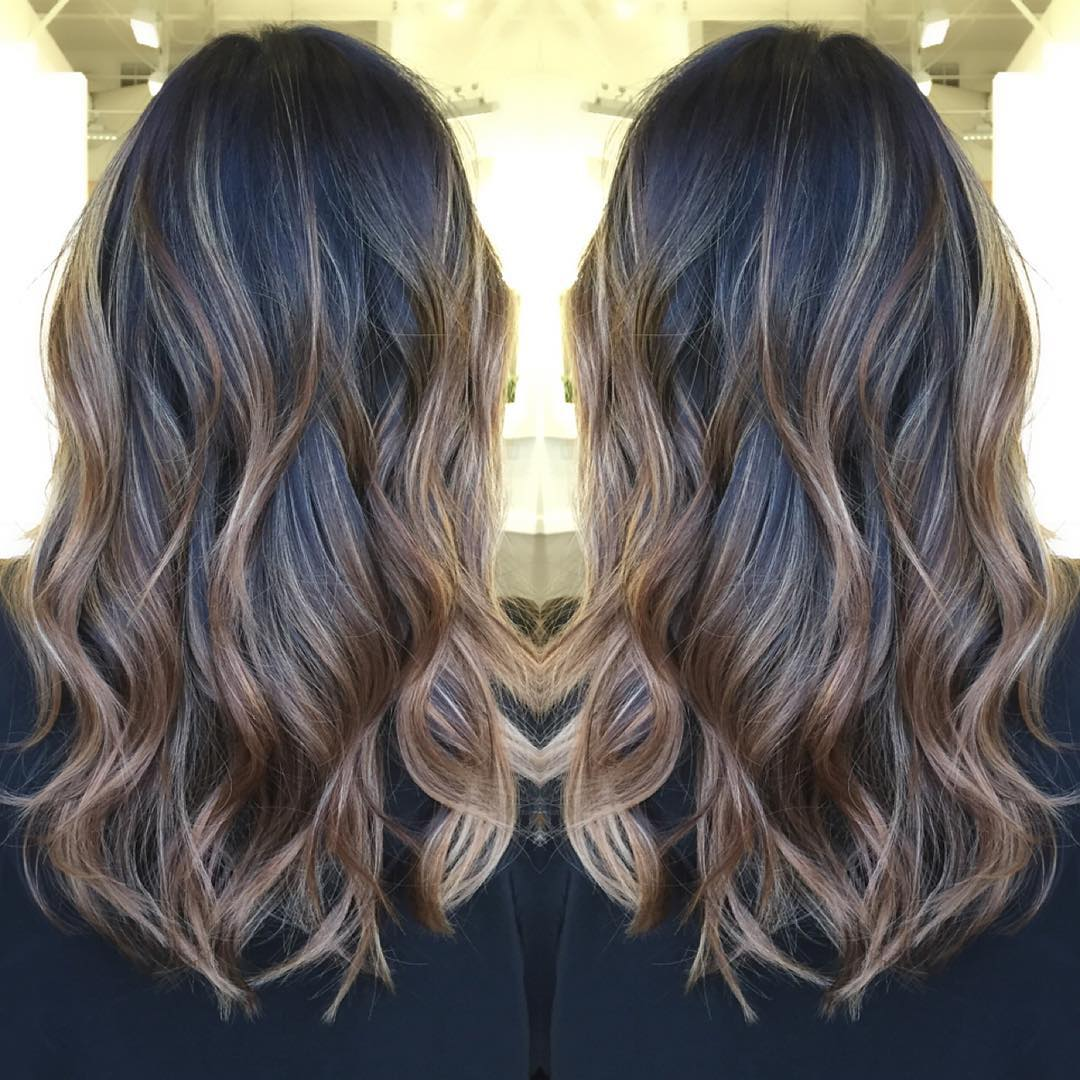 60 balayage hair color ideas with blonde brown caramel and red 4 brown ombre highlights for black hair pmusecretfo Images