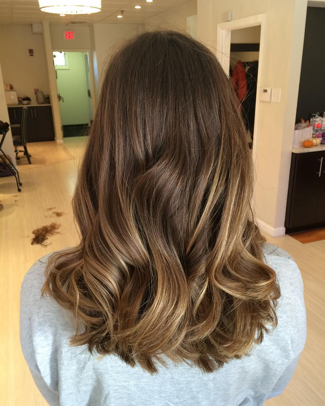 60 balayage hair color ideas with blonde brown caramel and red highlights page 44 foliver blog. Black Bedroom Furniture Sets. Home Design Ideas