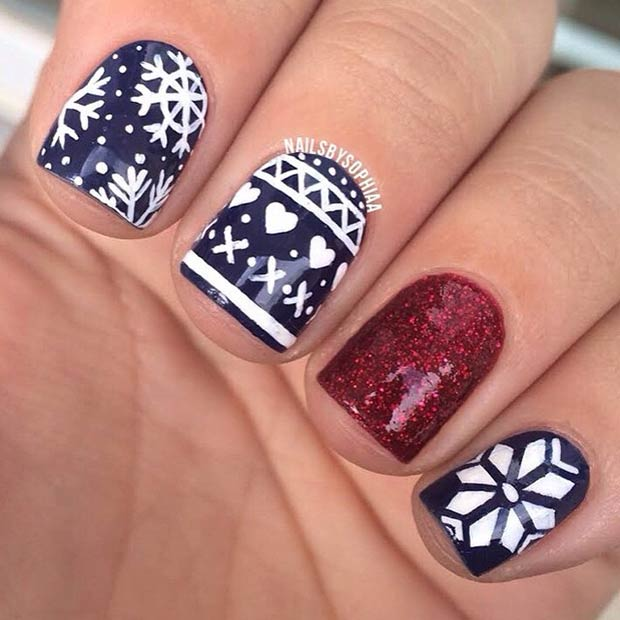5 Sweater-Inspired Nails