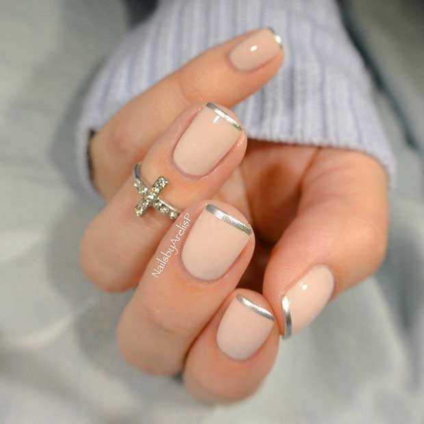 31 Cool French Tip Nail Designs – Page 5 – Foliver blog