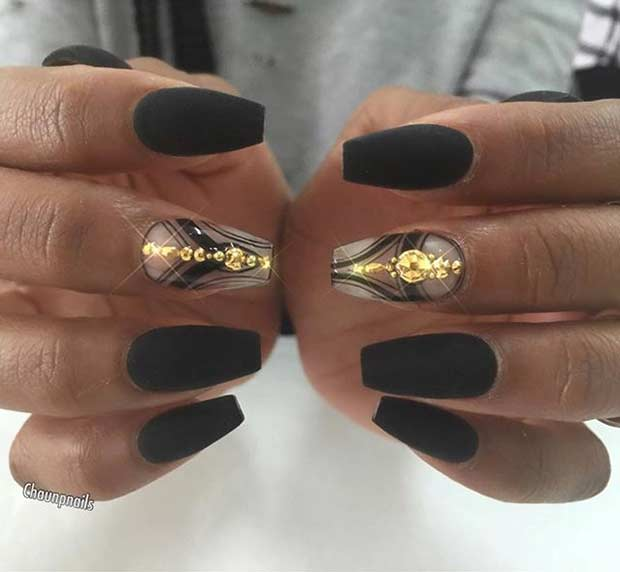 31 trendy nail art ideas for coffin nails � page 6