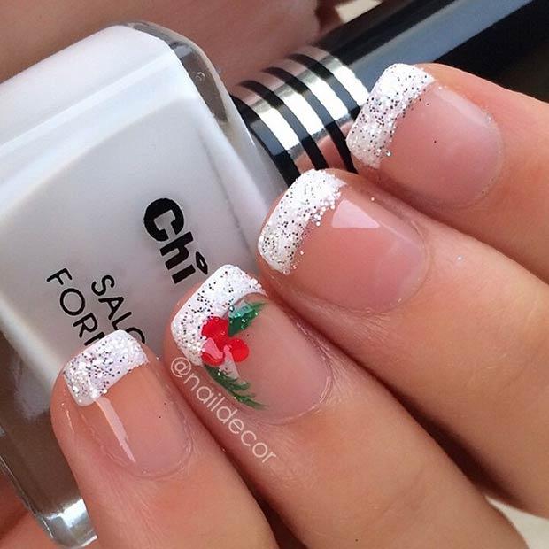 31 Christmas Nail Art Design Ideas Page 6 Foliver Blog