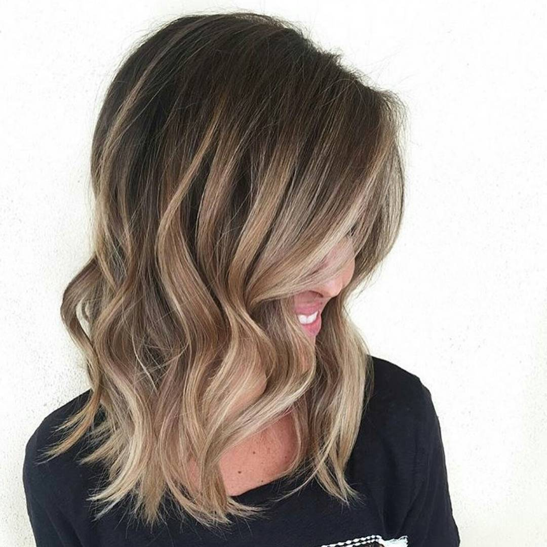 60 Balayage Hair Color Ideas with Blonde, Brown, Caramel