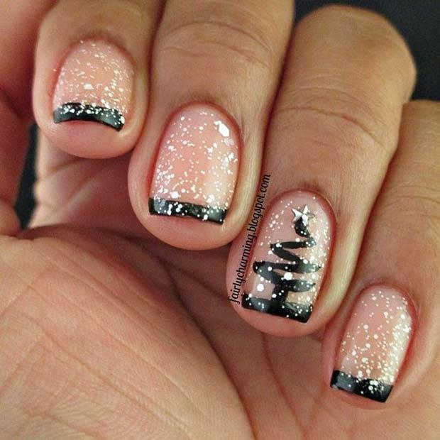 Elegant Christmas Nail Art: 31 Christmas Nail Art Design Ideas