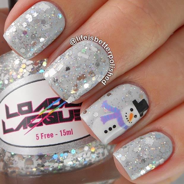 7 Sparkly Manicure