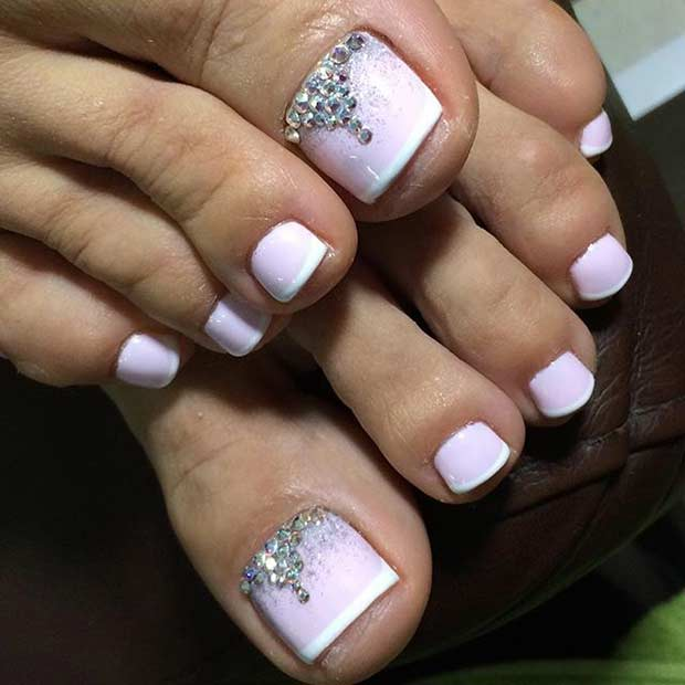 Nail Designs Hand And Pedicure Toe