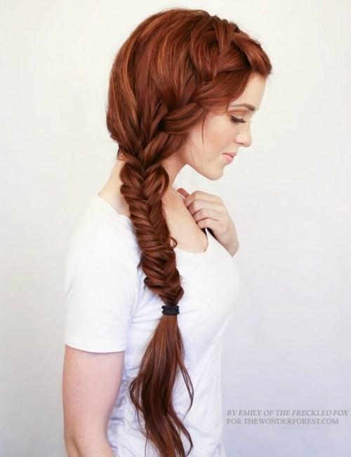 1 bohemian side braid hairstyle