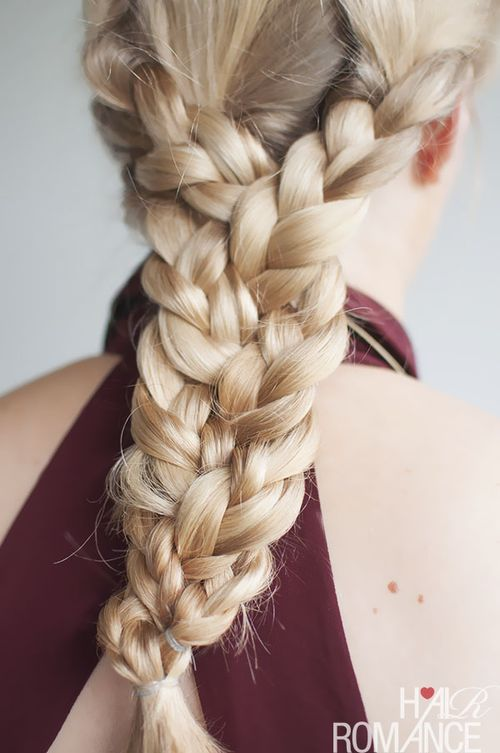 1 dramatic triple braid