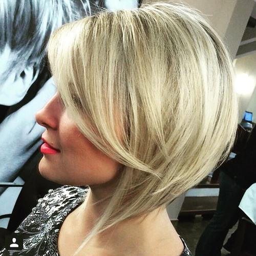 1 inverted bob for thin hair