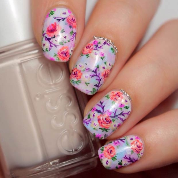 10 Purple Floral Design