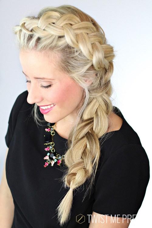 10 loose dutch braid hairstyle