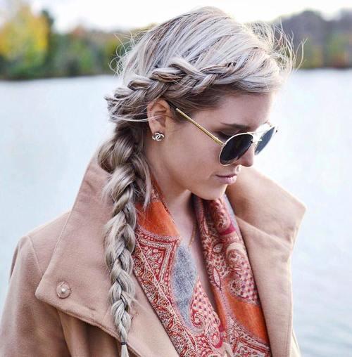 10 side braid hairstyle