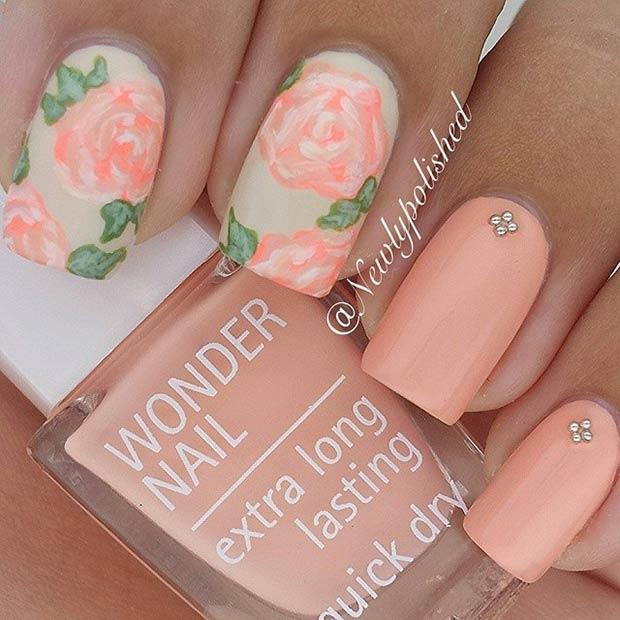 50 Flower Nail Designs for Spring – Page 11 – Foliver blog