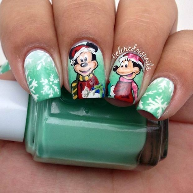 12 Mickey & Minnie Winter Design