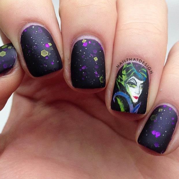 21 Super Cute Disney Nail Art Designs Page 14 Foliver Blog