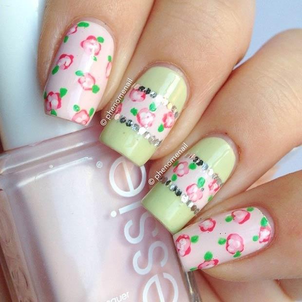 15 Light Pink + Mint