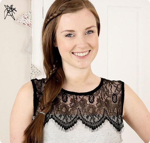 15 lace braid hairstyle