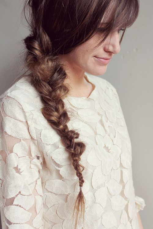 15 messy side braid