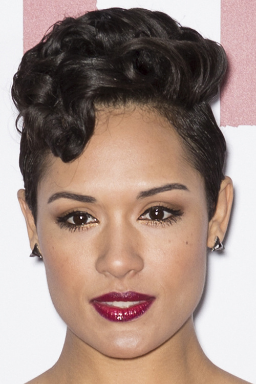 16 fancy short black curly hairstyle