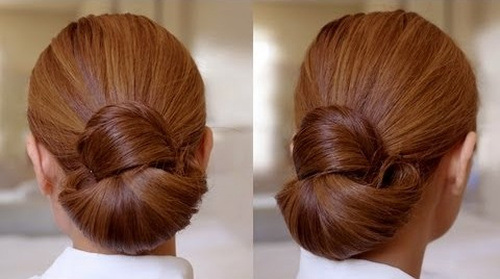 18 easy elegance hair bun formal updo