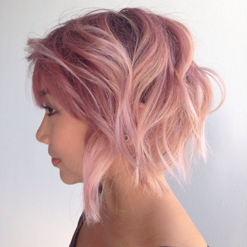 50 Messy Bob Hairstyles for Your Trendy Casual Looks – Page 18 ...